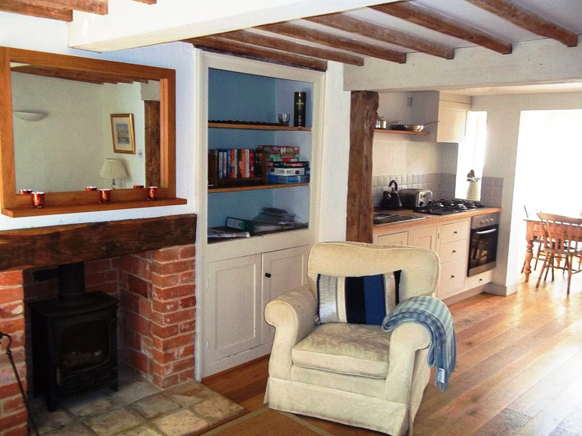 cosy ground floor at September Cottage