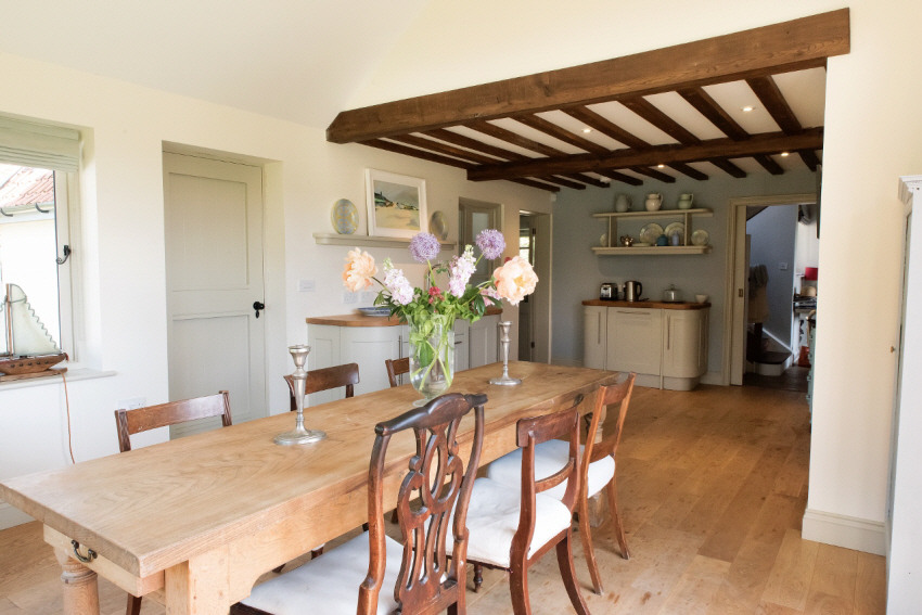 Dining area at May holiday home